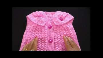 Knitting Baby Cardigan