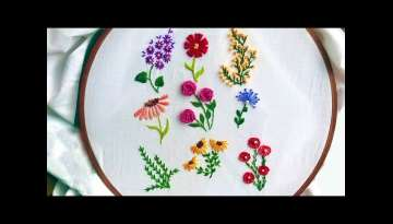 Amazing Embroidery Stitches For Beginners