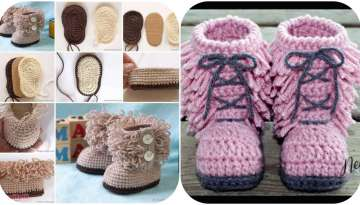 Manufacture of girl boots with tassels