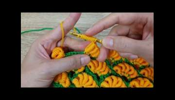 shortcut Banana crochet idea