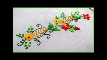 Beautiful Borderline Embroidery Designs