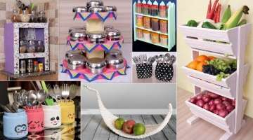 BEST KITCHEN STORAGE HACKS IDEAS